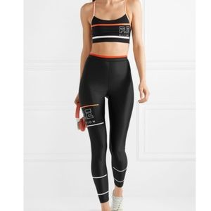 P.E NATION THE GLORY PRINTED STRETCH LEGGINGS